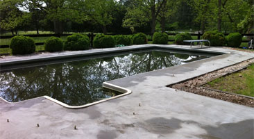 Pool Deck Repair Raleigh