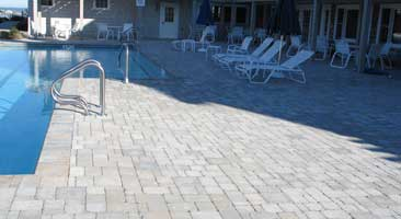 pavers over concrete pool deck